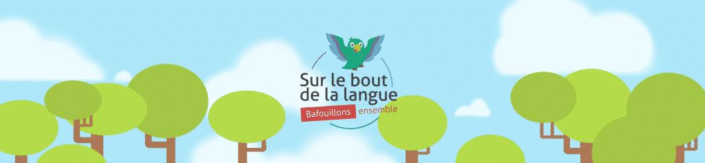 logo sur le bout de la langue